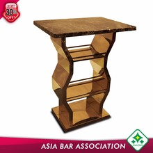 coffee table acrylic solid surface bar counter