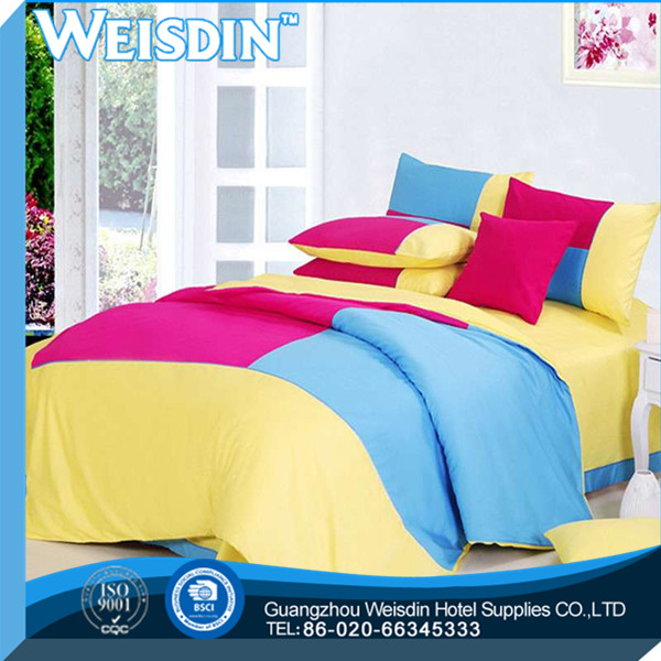 woven manufacter stain born egypt long stapled cotton home bedding set