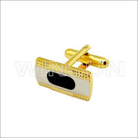Mens Wrist Accessories new design cuff link with gold plating