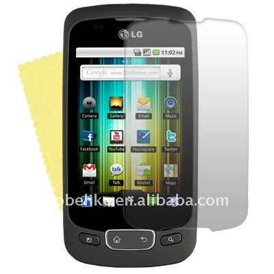 For LG Optimus One P500 Screen Guard/Skin/Sticker/Cover
