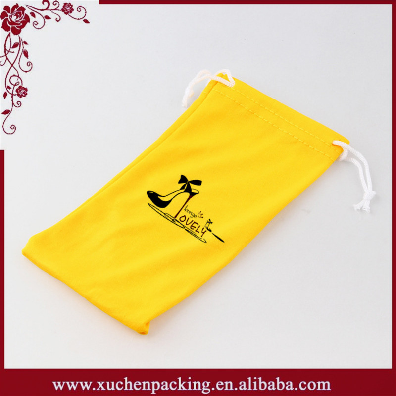 Wholesale small microfiber suede bag