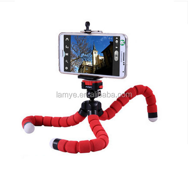 Best Selling Products In america 3 colors Mobile Octopus Tripod, Flexible Mini Tripod Wholesale Price