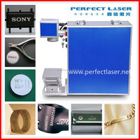 stainless steel/ Jewelry/ring/bearing smart 20w 30w portable mini fiber laser marking machine price manufacture
