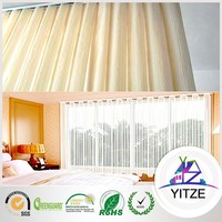 2016 new style vertical shade curtain and blinds for decoration