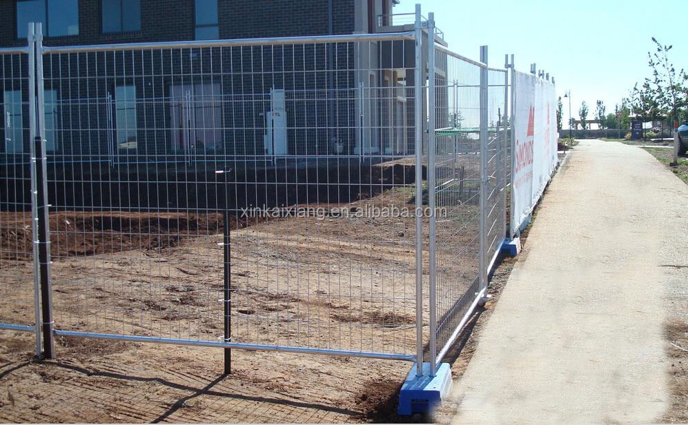 Temporaneo saldato pannelli di recinzione metallica per la vendita ...