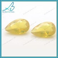 Heat resistance pear cut nano gems stone for wax casting
