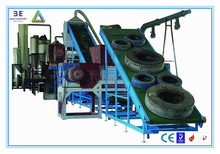 High Yield 3E Waste Tires Recycling Machine/Scrap Tyres Recycling Production Line/Rubber Crusher