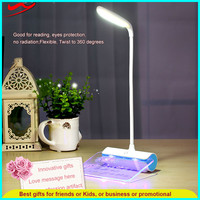 New launch table office lady rechargeable blue point led work light