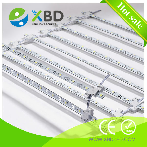 double-sided illumination 12v/24v SMD led rigid strip 5050 advertising / billboard/sign backlight