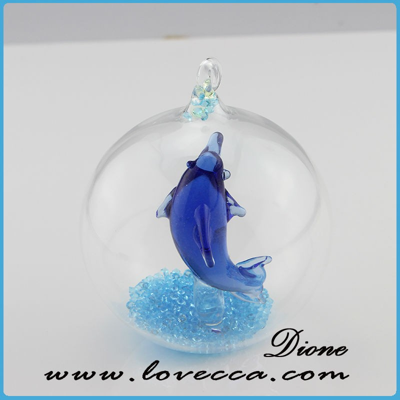 Modern clear glass dome for dolphin, miniature dome window terrarium VI