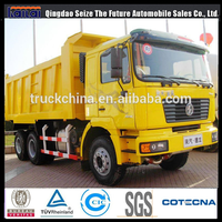 China truck Shacman F2000 tipper truck truck load of sand