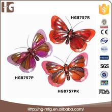 Customized Unique Home Decorative Wall Plaque Metal Butterfly