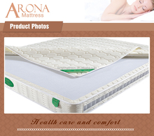Customized size soft 7-zone pocket spring bed sore mattress,OEM