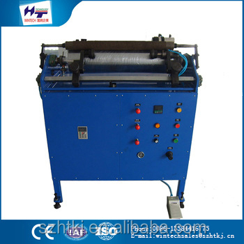 Hot selling 500mm automatic pe cling film slitting and rewinding machine