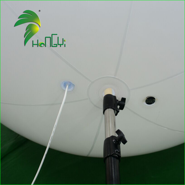 1.5M Diameter Display LED Stand Electric Balloon Inflator With Pole / Event Decoration Lighted Tripod Balloon