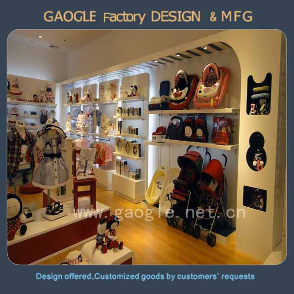 modern new style chinese furniture stores for baby clothes display