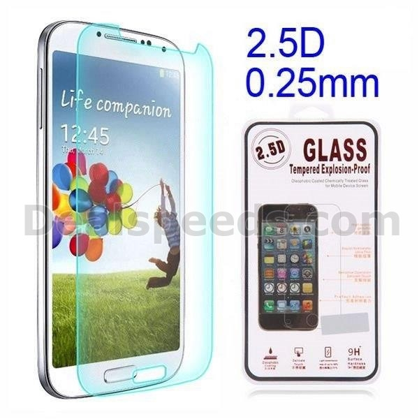 0.25mm 2.5D Explosion-proof Tempered Glass Film Guard Screen Protector for Samsung Galaxy S4