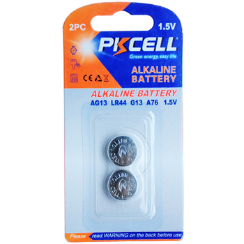 1.5v AG13 alkaline button cell battery for watch