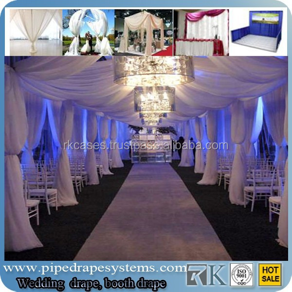 pipe and drape wedding party event decoration inflatable in RK
