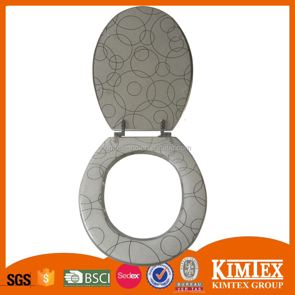 Plastic toilet seat cover padded toilet seat covers - Decorative toilet seat covers ...