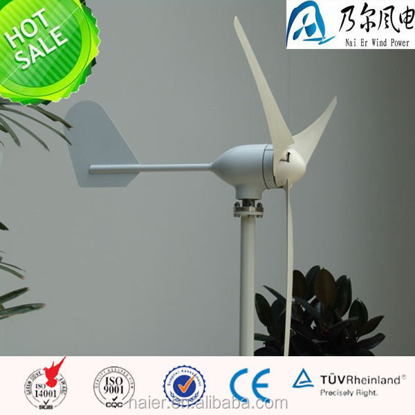2015 best selling model 400w 12/24v horizontal axis wind generator/windmill with CE made in china