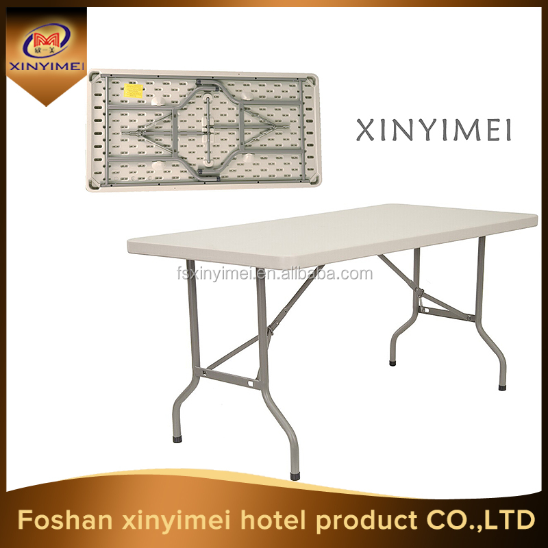 wholesale cheap plastic portable picnic rectangle folding <strong>table</strong>