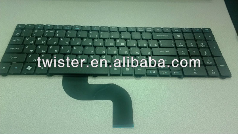 RU/ Russian New Black laptop keyboard for AC ER 5800 5810 5810T 5738 5536 5542 5542G 5410T 5741G 5236 5242 5338 5340 5251