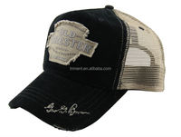 Cotton corduroy and mesh fashion trucker cap and hat