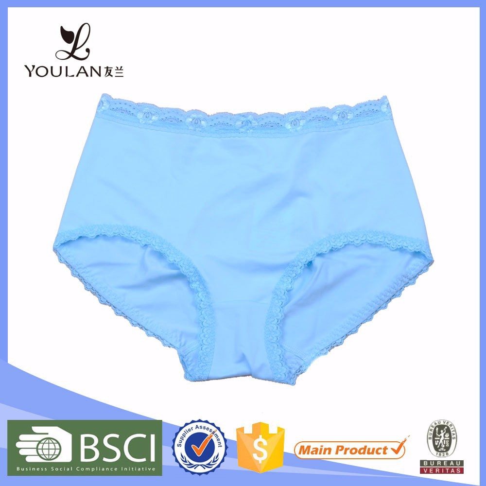 China Factory Cute Young Girl Spandex Underwear Manufacture In China