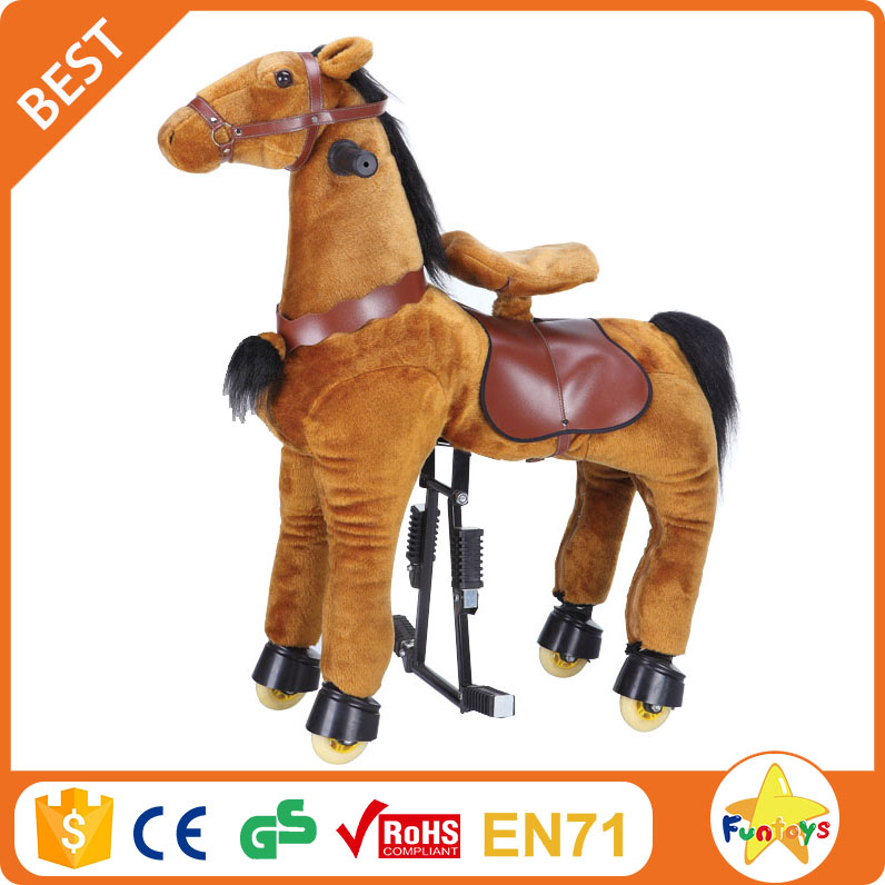 buy funtoys bull kid pony sliding horse toy for sale
