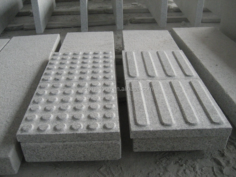 China light grey Granite G603 Blind person stone Paving Paver