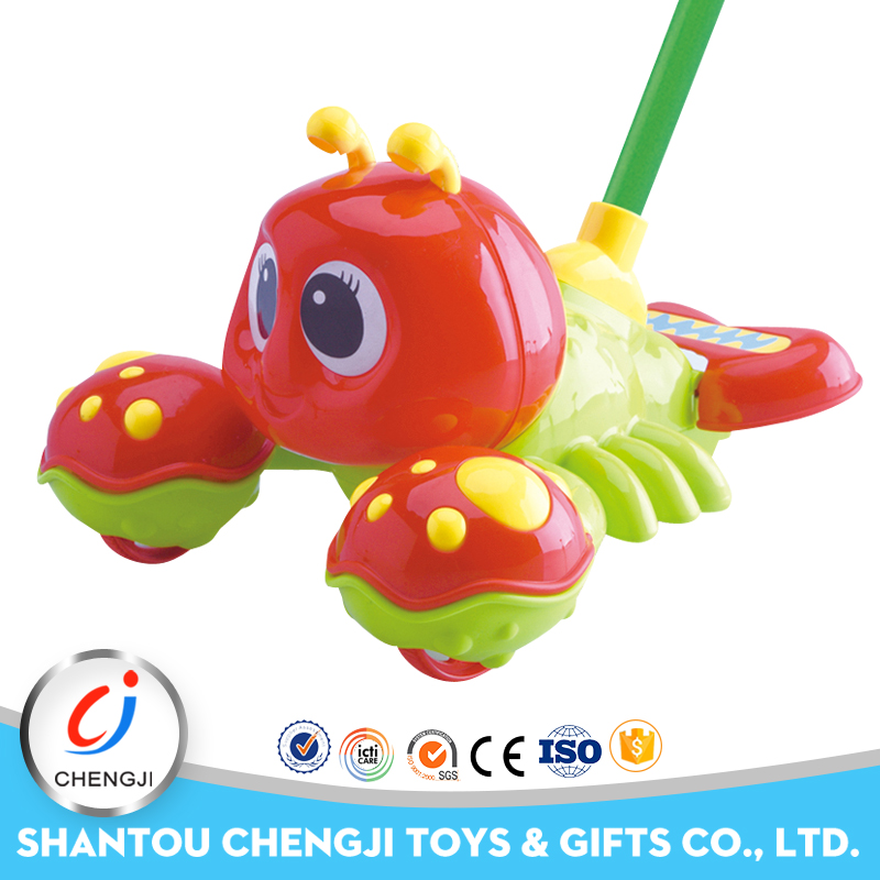Hot popular kids toy educational mini plastic toy lobster
