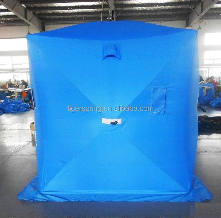 Cold resistant ice fishing tent