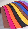 Bright colored felt fabric in roll for making festival decorations