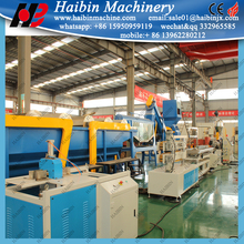 China high output pvc household plastic products making machine