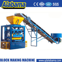 factory directly supplying 2014 new designed DWC series diesel engine hollow block machine/brick maker/block making machine