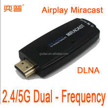 Wholesale Miracast Airplay DLNA for Apple Iphone android tv stick WIFI connect mobile and dongle sam time