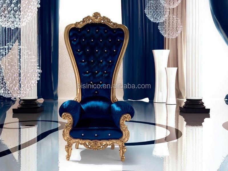 Bisini Luxury Salon Chair Luxury Hotel High Back Chair