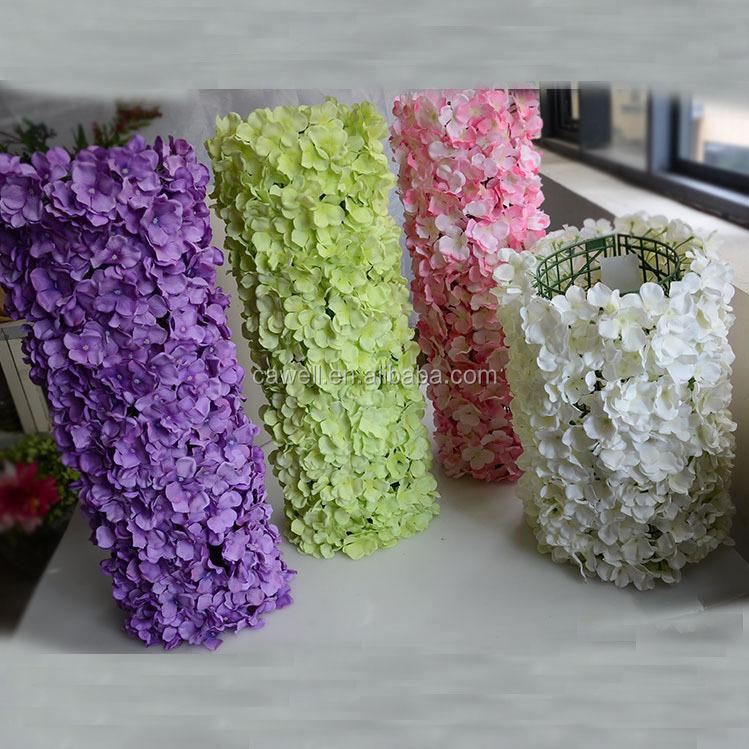 Wedding Decoration Backdrop Silk Artificial Flower Wall