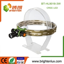 China Factory Supply Cheap 3watt Cree led Zoom Focus High Power led head lamp