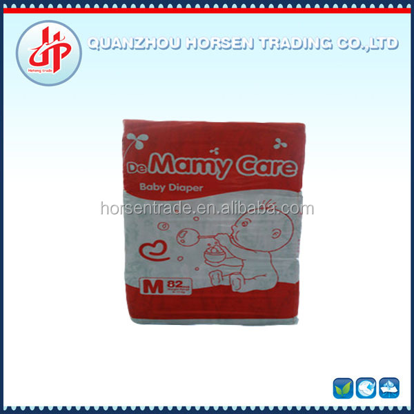 Cloth-like high quality baby diapers, innovative products China