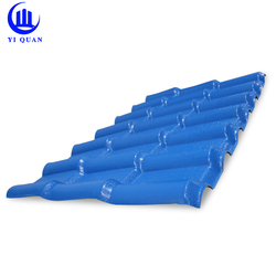 alibaba spanish building materials corrugated plastic resin roof tile