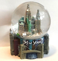 factory custom souvenirs New York Snow Globe