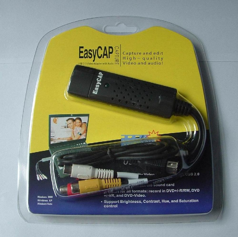 USB2.0 Video Grabber Capture Converter EasyCAP168