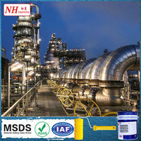 Red oxide water-based epoxy zinc phosphate primer paint