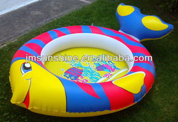 Tropical Fish Childrens Inflatable Swimming Pool