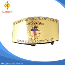 Hot sales customer high quality gold metal belt buckle
