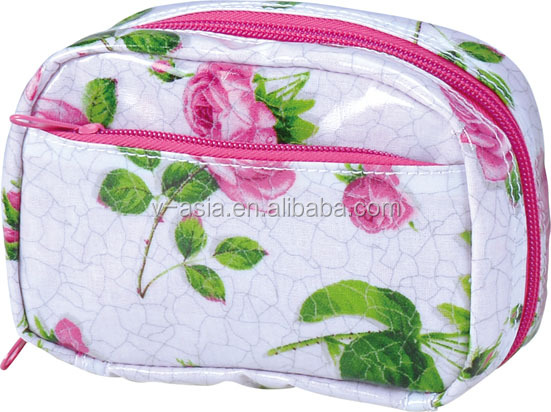 KY61040 100% cotton PVC small purse