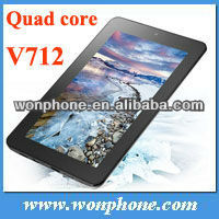 Hot Onda V712 Quad Core 7 Inch IPS Capacitive Touch Screen,1280*800 Tablet PC