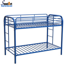Steel double decker bed colorful pictures of double bed sale to America